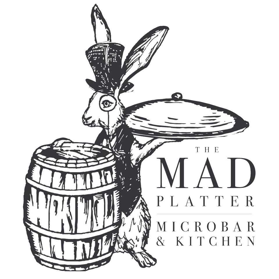 The Mad Platter logo